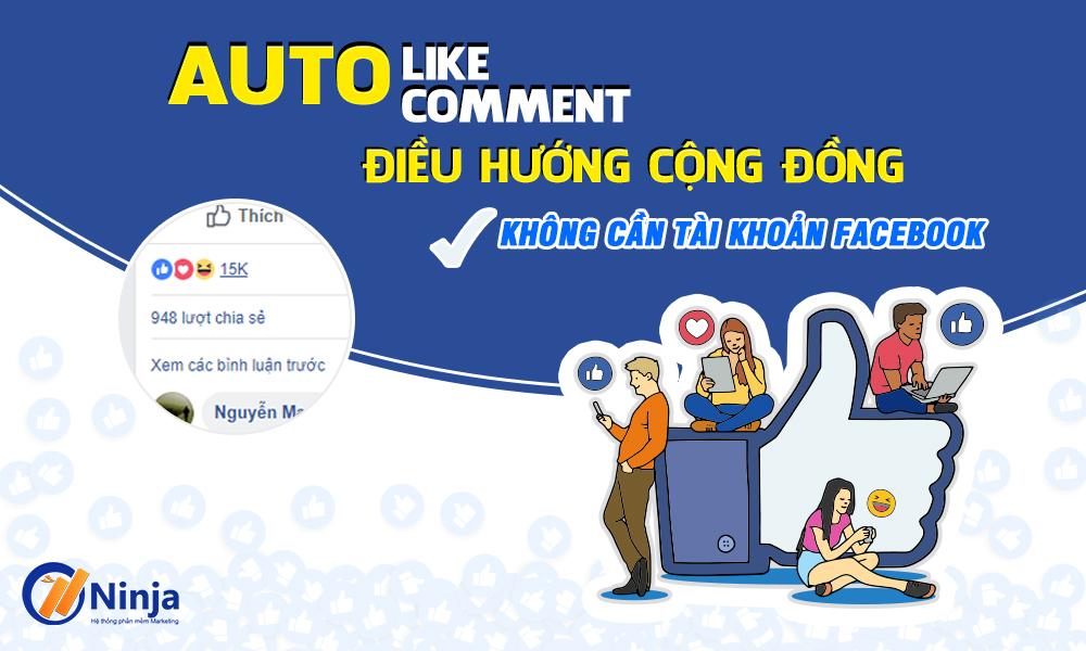 Ninja seeding – Auto like, auto comment bài viết bán hàng cho các mẹ bỉm sữa