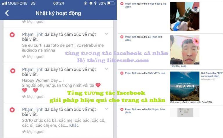 cách khắc phục khi mất tương tác facebook