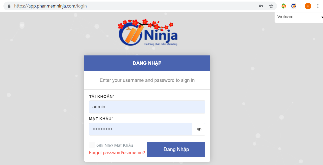 Đăng tin hàng loạt – Hướng dẫn nhập tài khoản vào Ninja Auto Post