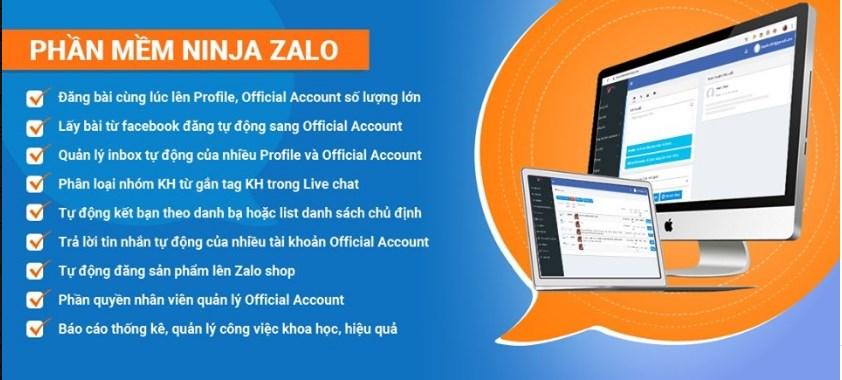 Quản lý tin nhắn bình luận tự động với phần mềm Ninja Zalo