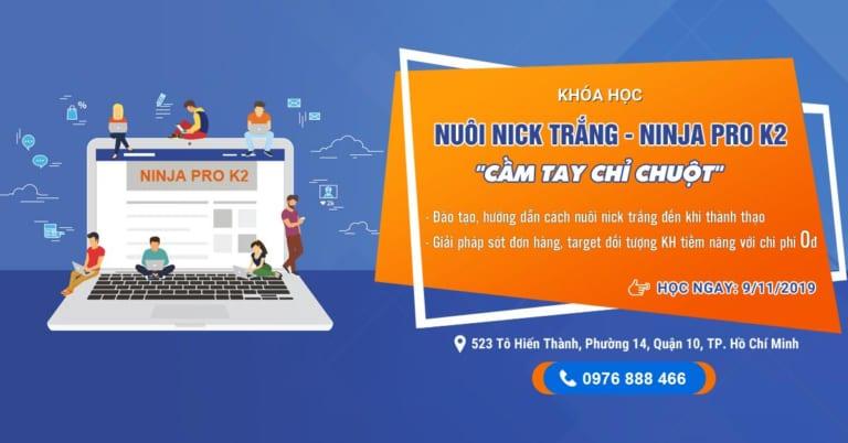 Khóa Đào tạo Ninja Pro K2 tại Hồ Chí Minh – Phần mềm Ninja