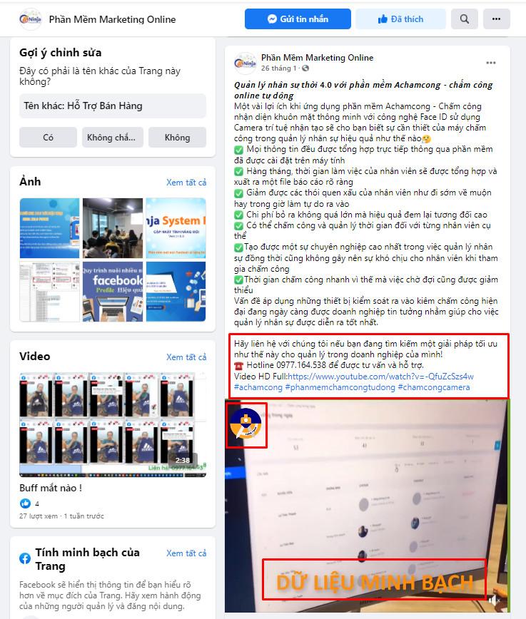 đăng bài lên fanpage chuẩn seo