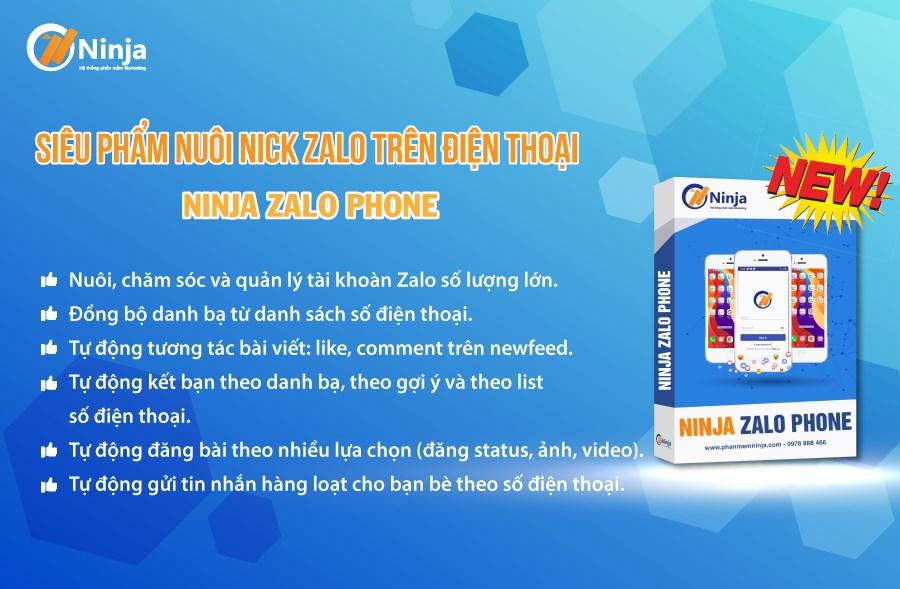 Phần mềm nuôi nick zalo trên điện thoại